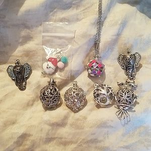 Jewelry - Aromatherapy or pearl cages and lockets new